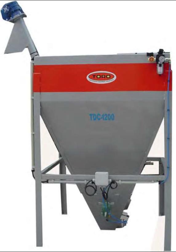 Tolva de cal TDC-1200